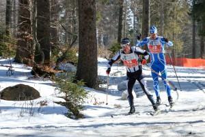 Lindberg, Skadi Loppet 2016 / MarathonBild: als Spitzengruppe abgesetzt,  Freimuth vor Mlynar